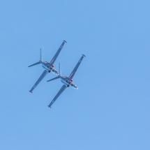 Fouga CM 170 Magister peräkanaa