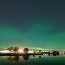 Auroras over Helsinki